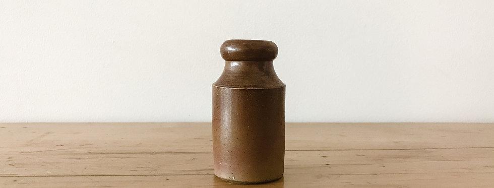 Mini Antique Amber Crock