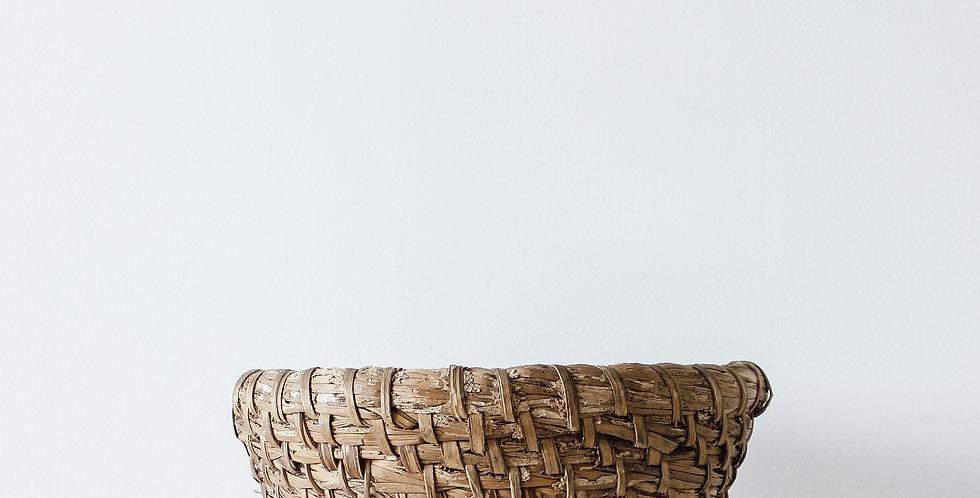 Hand Woven Basket Medium - Circa 1900's