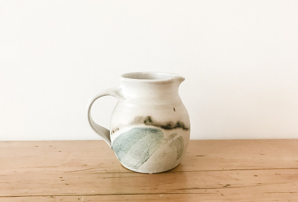 Small Vintage Canadian Pottery Pitcher