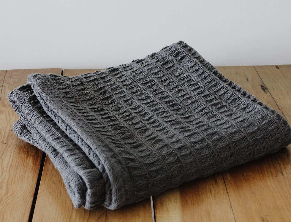 The Waffle Throw, Charcoal