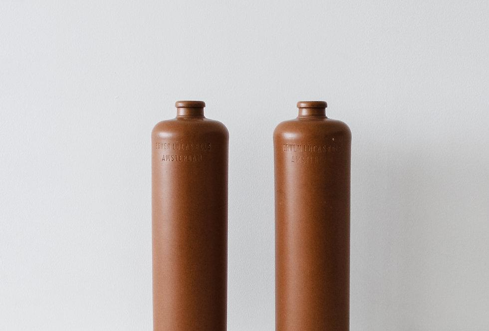 1 Litre Rust Clay Bottle
