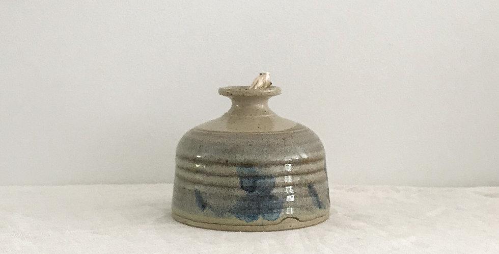 Canadian Pottery Oil Vase