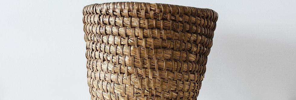 Hand Woven Basket Large - Circa 1900's