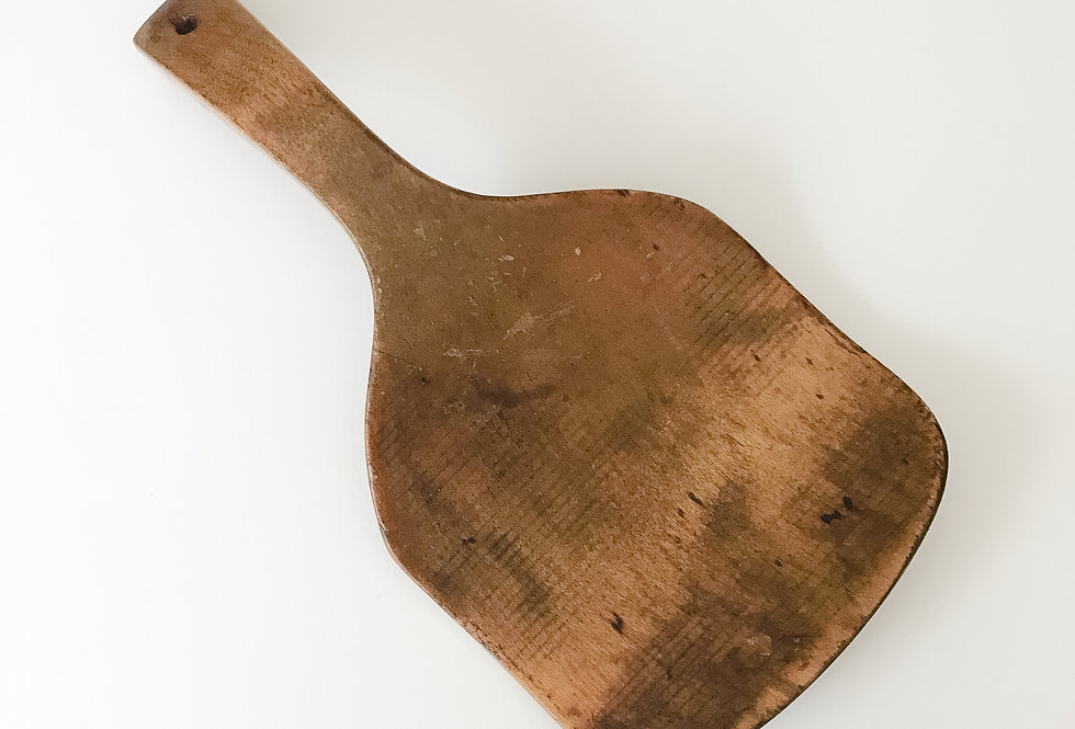Wooden Butter Paddle