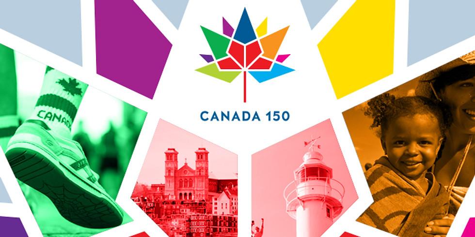 150e anniversaire du Canada à Beaconsfield