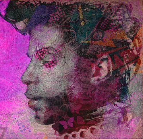 Prince Purple Rain pop art print