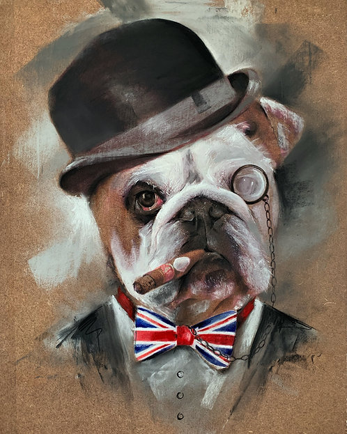 Dapper Dan bulldog