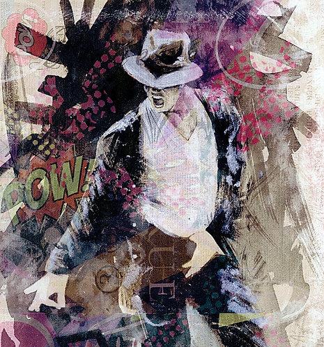 Micheal Jackson street pop art