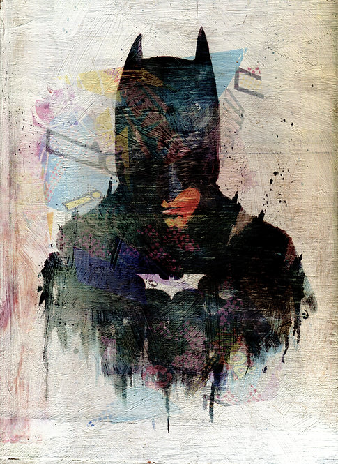 Batman dark knight print
