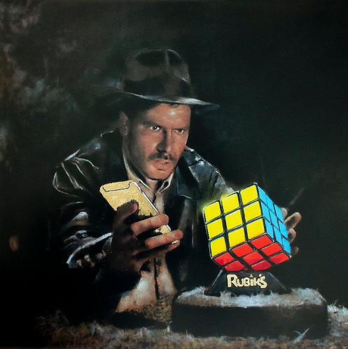 Raiders Rubik's original