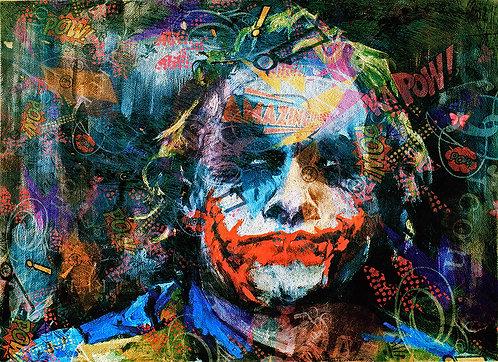 Joker Pop Art Print