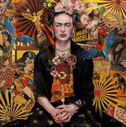 """Frida Kahlo """"Fiesta de Frida"""" original"""