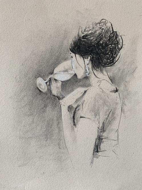 Original charcoal sketch (SOLD)