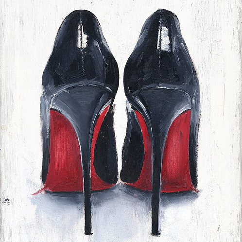 Louboutins wall decor print