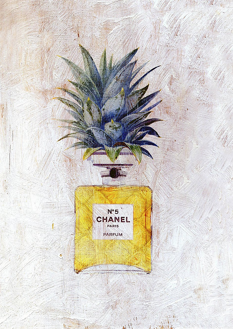 Chanel Vintage Pineapple