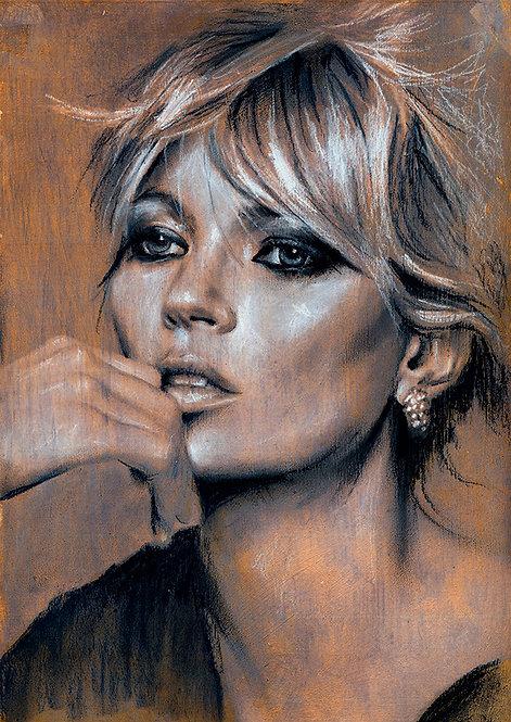Kate Moss art