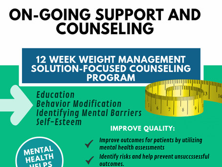Welcome to the W-A-I-T Management Solution Focused 12 Module Counseling