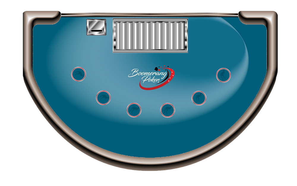 Boomerang Poker II Table