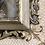 Thumbnail: Impression photo sur verre bombé cadre bois sculpté - S109