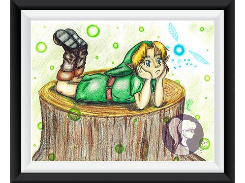 Young Link Art Print