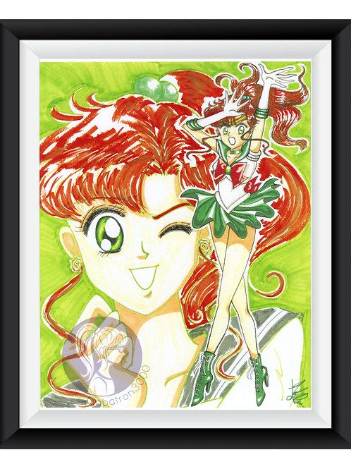 Sailor Jupiter Art Print