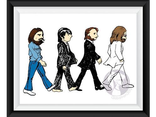 The Beatles Art Print (digital)