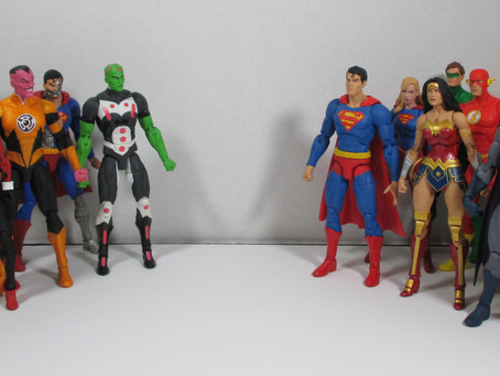 Toy Review - DC Action Figures from DC Direct, McFarlane and NECA
