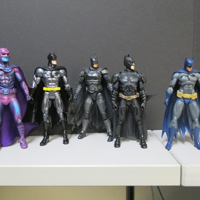 Pretty little Batmen all in a row...