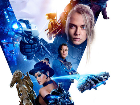 Movie Reivew - Valerian and the City of a Thousand Planets