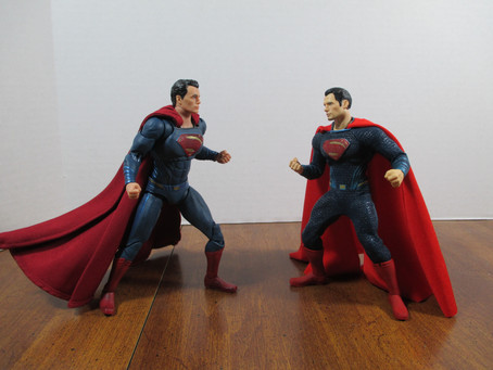Toy Review - BVS Superman: DC Collectibles vs. Mezco's One:12 Collective