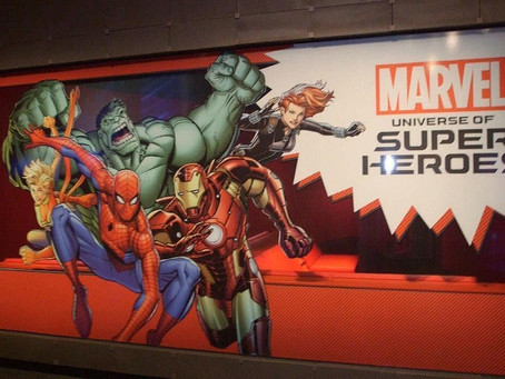 Field Trip! Marvel: A Universe of Superheroes Exhibit at MoPop
