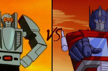 Transformers Vs. GoBots...FIGHT!!!