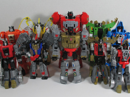 Toy Review - Transformers: Power of the Primes Dinobots (with bonus Black Mamba Upscaled Version)