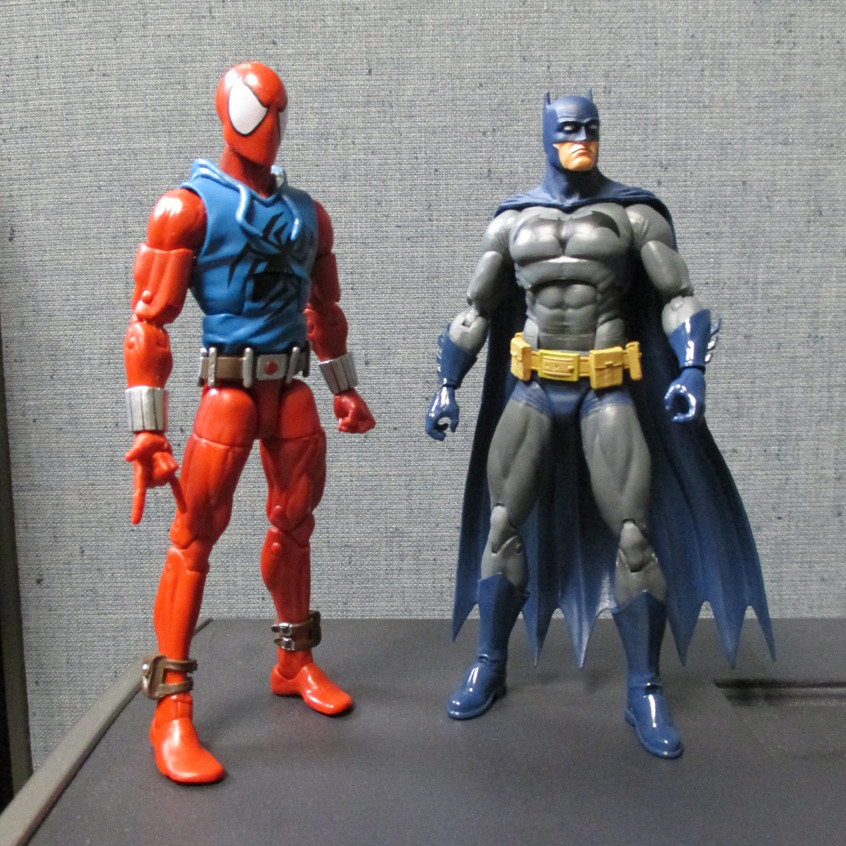 With that cloned Spidey...