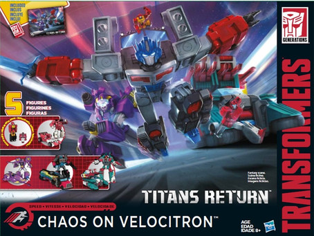 Toy Review - Transformers: Titans Return Gift-set - Chaos on Velocitron