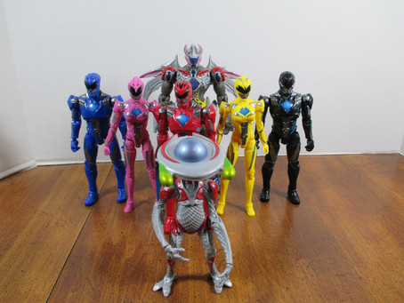Toy Review - Power Rangers Movie Legacy Action Figures