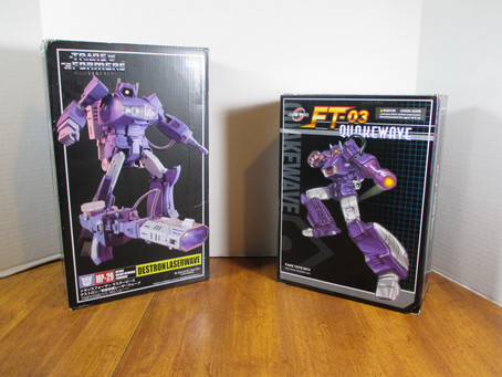 Masterpiece Theater Showdown: Takara's Shockwave Vs. FansToys Quakewave