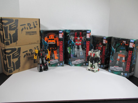 Toy Review - Transformers Earthrise: Wave 1 (mostly)