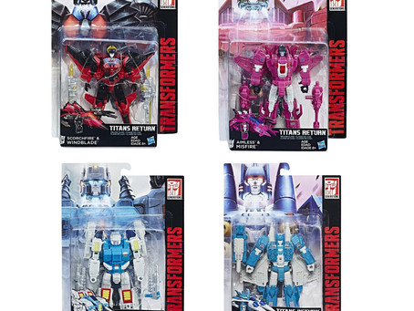 Toy Review - Transformers Titans Return Deluxe Class Waves 5 and 6