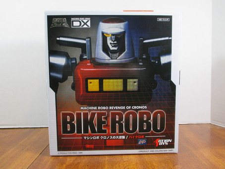 Toy Review - Action Toys' Bike Robo DX [The REAL Masterpiece Cy-Kill]