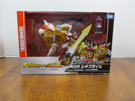 Toy Review - Transformers Legends Convobat and Lioconvoy