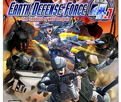 Free Pizza Video Game Review - Earth Defense Force 4.1: The Shadow of New Despair
