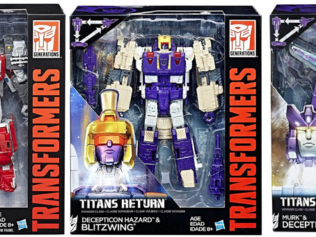 Toy Review - Transformers Titans Return: Voyager Class Wave 4