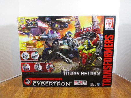 Toy Review - Transformers Titans Return: Siege on Cybertron Box Set