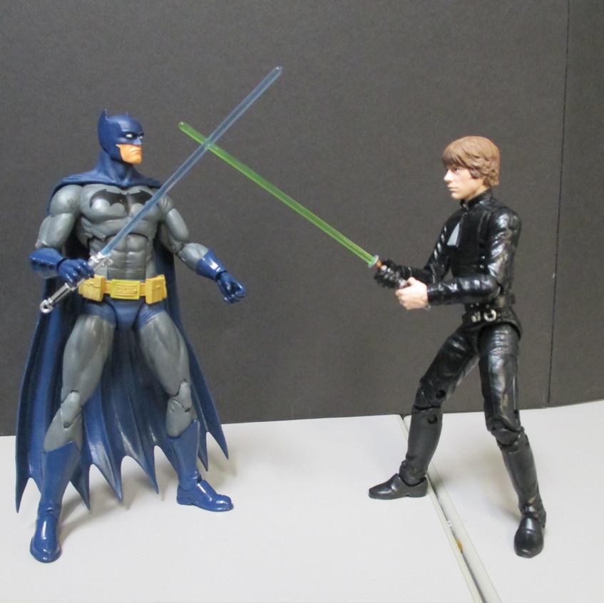 Batman v Luke Skywalker
