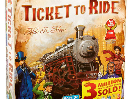 Game Night Review: Ticket To Ride