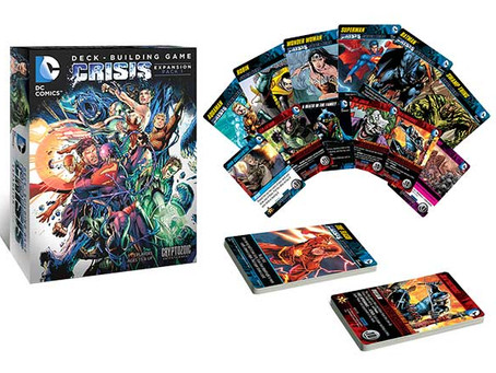 Game Review: Crisis Expansions 1 and 2 for the DC Deck Building Game