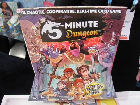 Game Night Review: 5 Minute Dungeon