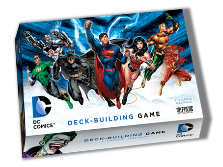 Review: DC Comics Deck-Building Game by Cryptozoic