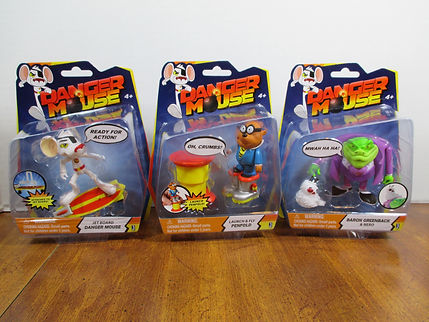 Toy Review Danger Mouse Action Figures And More